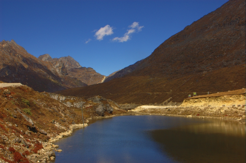 Arunachal Pradesh is famous for its mountainous landscape.