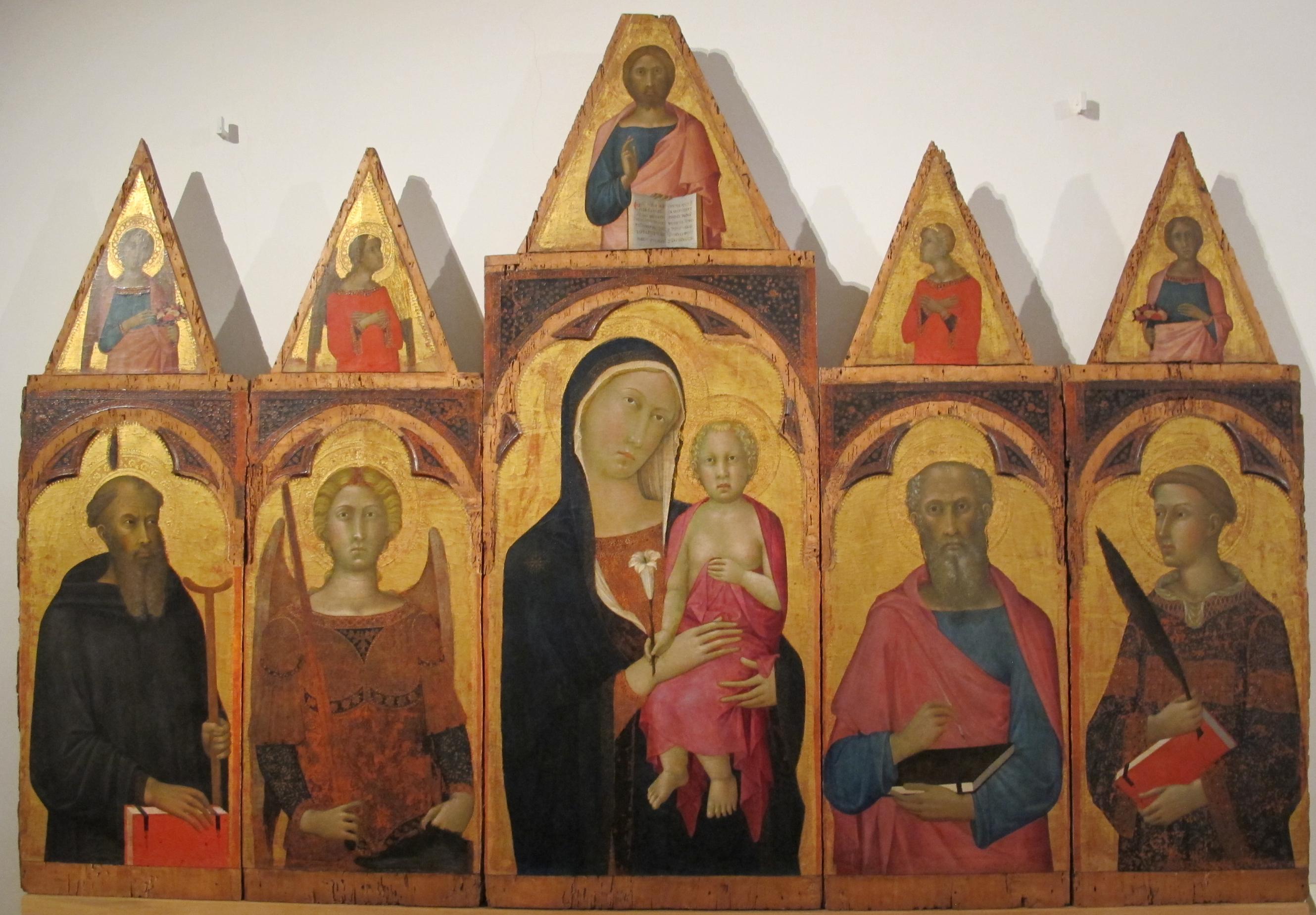 File:Naddo ceccarelli, madonna e santi, 1347 ca.JPG