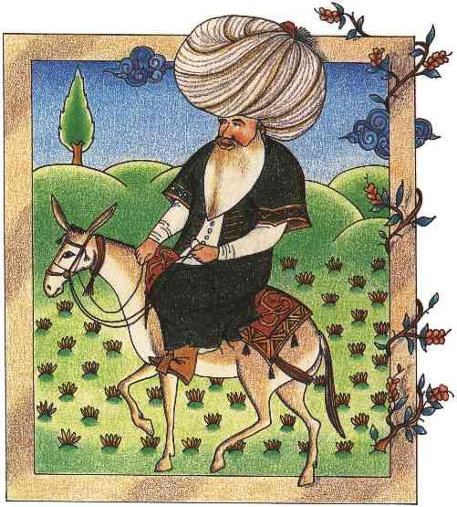 Nasreddin (17th-century miniature).jpg