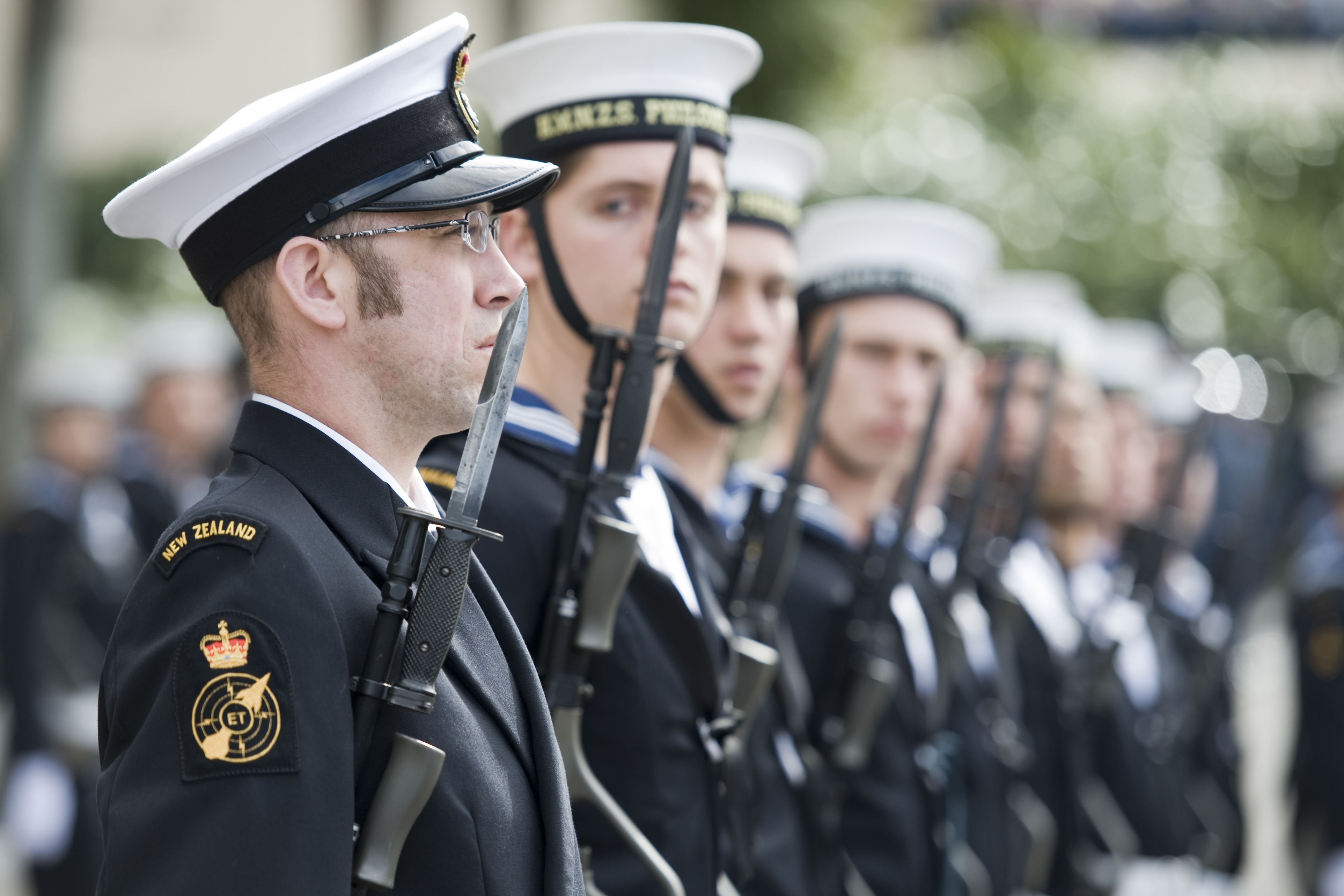 Navy members of the Royal Guard of Honour - Flickr - NZ Defence Force