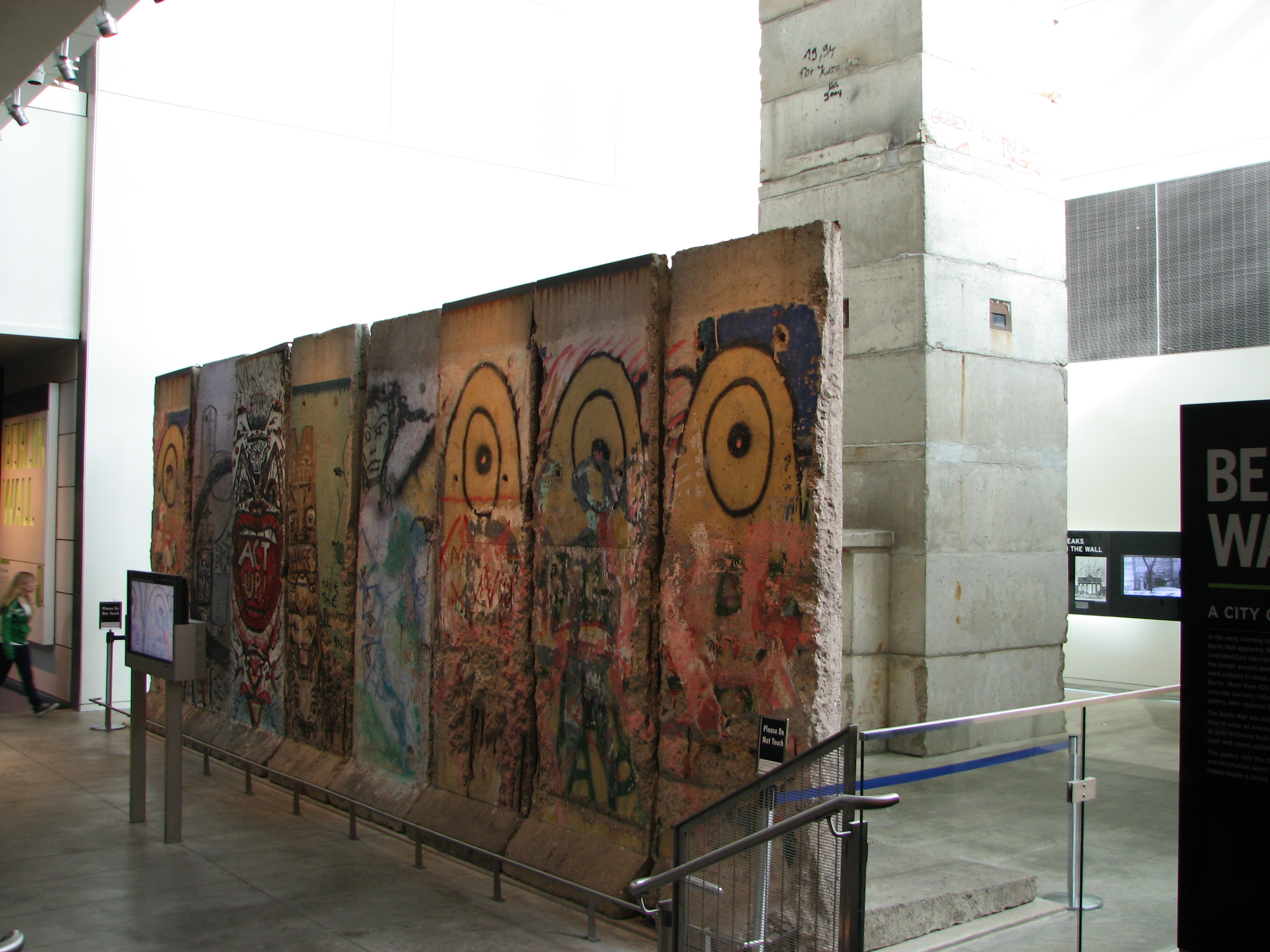 Image result for newseum berlin wall""