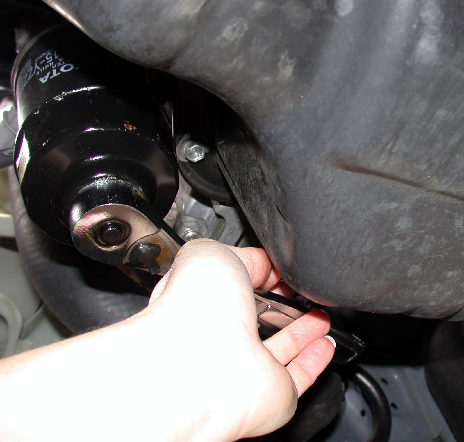 Changing Oil Filter On Suzuki Df  B Site Youtube