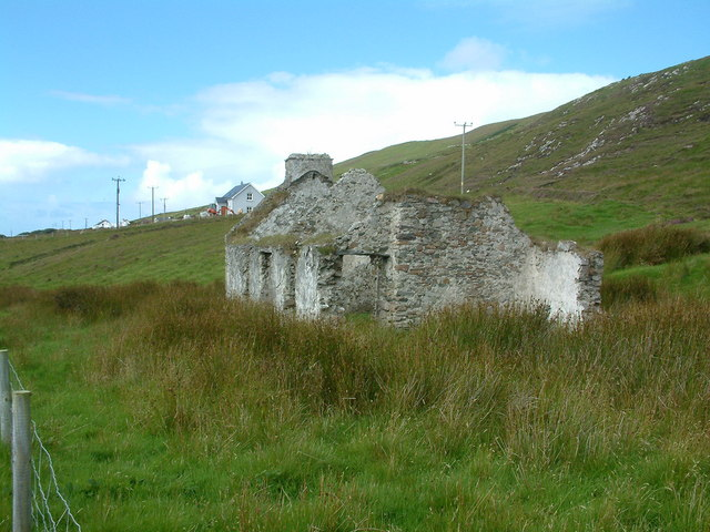 File:Old Cottage at Gleann, Clare Island - geograph.org.uk - 238582.jpg