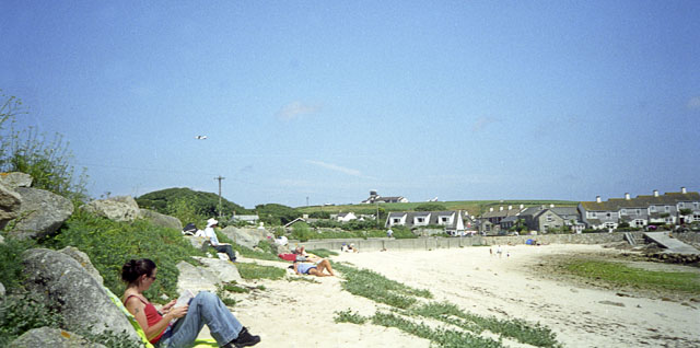 Old Town Bay beach, St Mary's - geograph.org.uk - 1852082