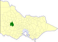 Shire of Stawell Local government area in Victoria, Australia