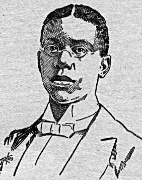 Sketch of African-American poet Paul Laurence ...