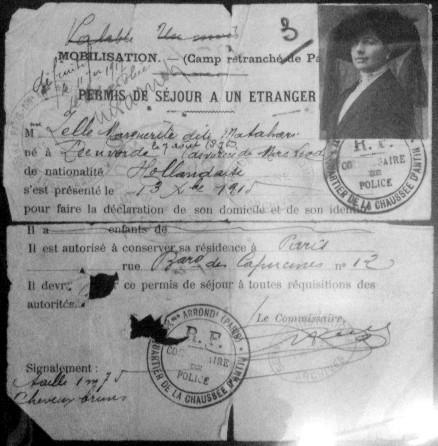 File:Permis de séjour de Mata-Hari.jpg