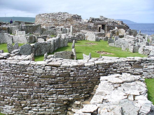 Pictish Village, Broch of Gurness - geograph.org.uk - 488652