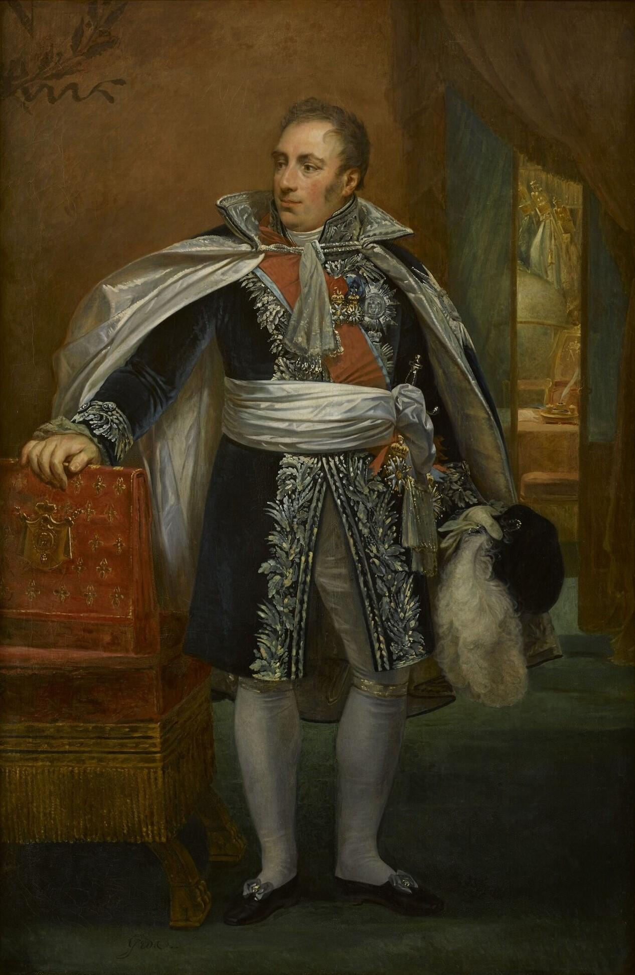 Pierre Daru.Portrait par Antoine-Jean Gros.