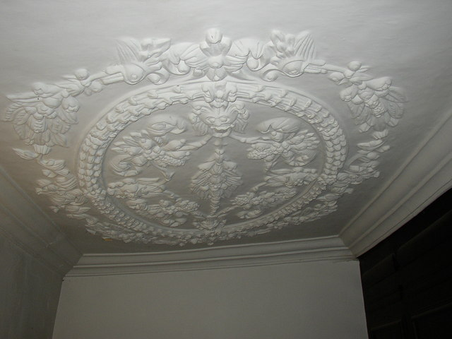 File Plaster Ceiling In Newhouse Hall Sheepridge Fartown