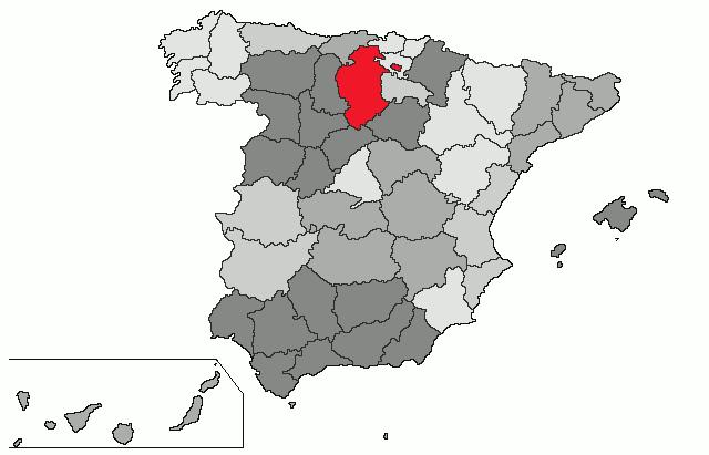 mapa de espanha burgos Burgos (província) – Wikipédia, a enciclopédia livre mapa de espanha burgos