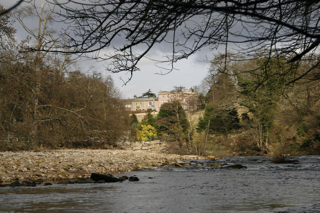 River Swale at Easby - geograph.org.uk - 1183904