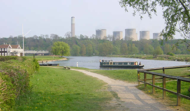River Trent at Trent Lock - geograph.org.uk - 3820