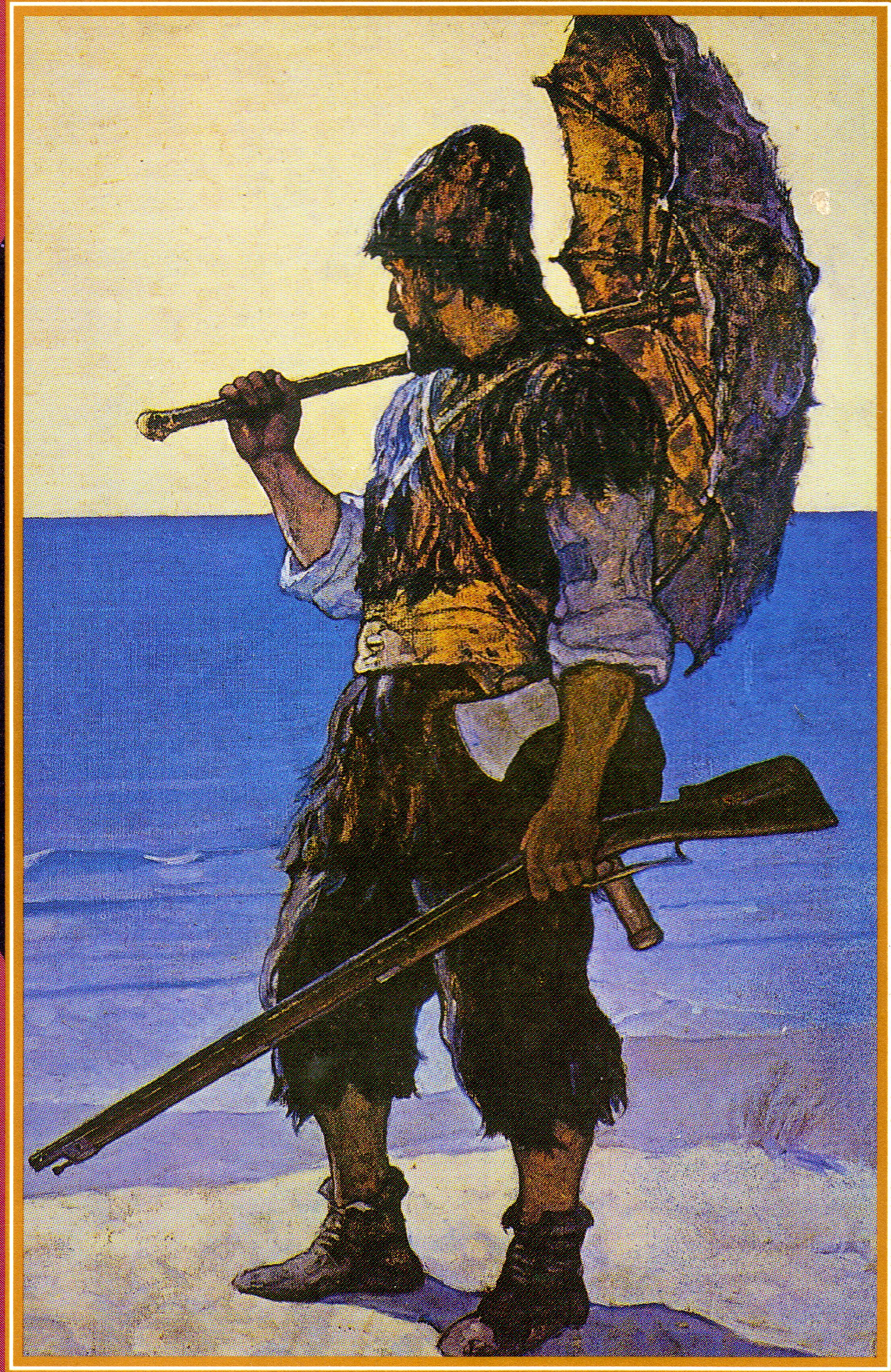 File robinson crusoe wyeth wikimedia commons - Mercredi robinson crusoe ...