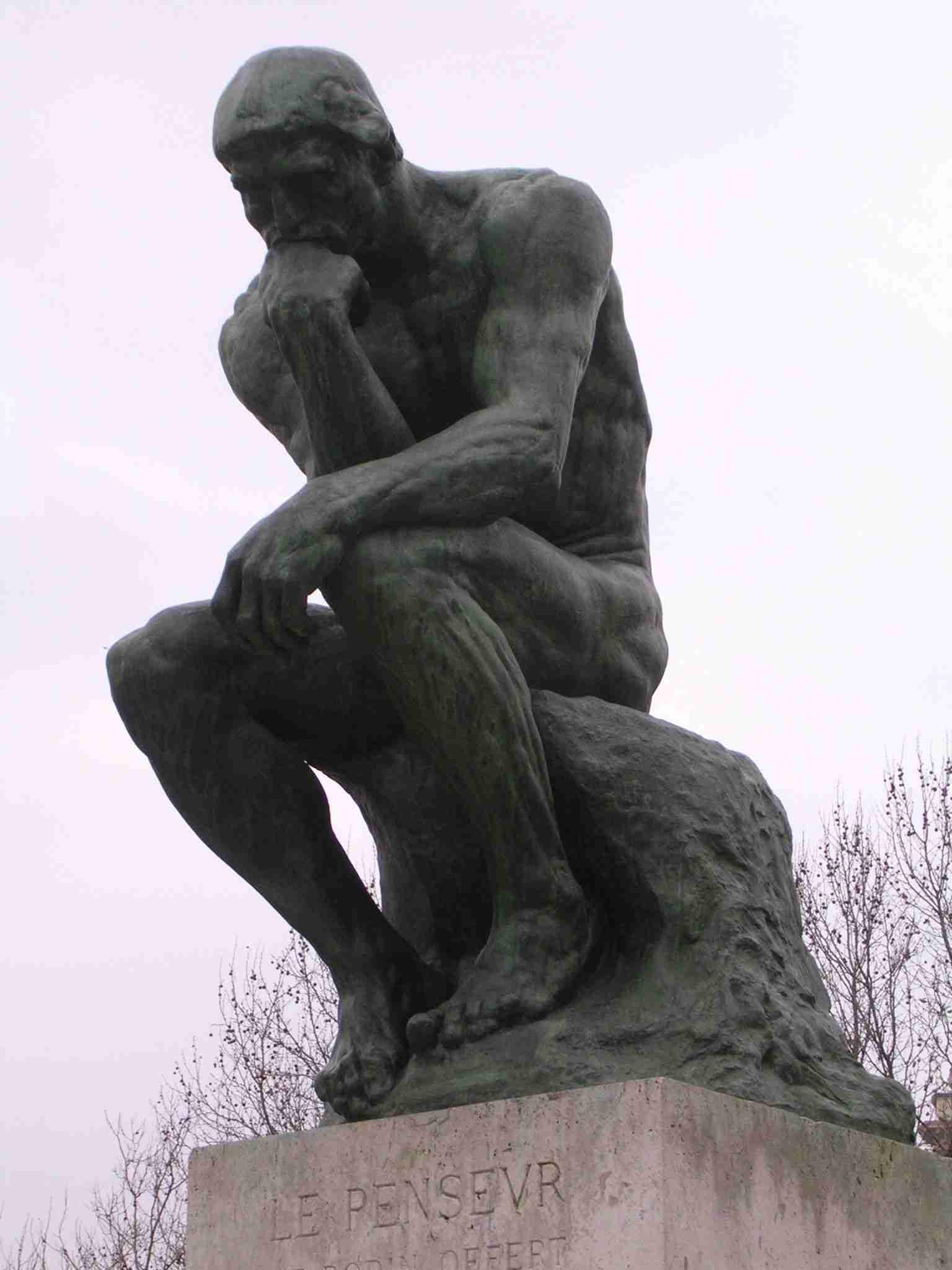 O pensador (Rodin)
