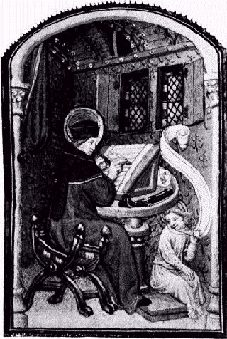 Scriptorium - 15th Century - Project Gutenberg eText 16531Public Domain