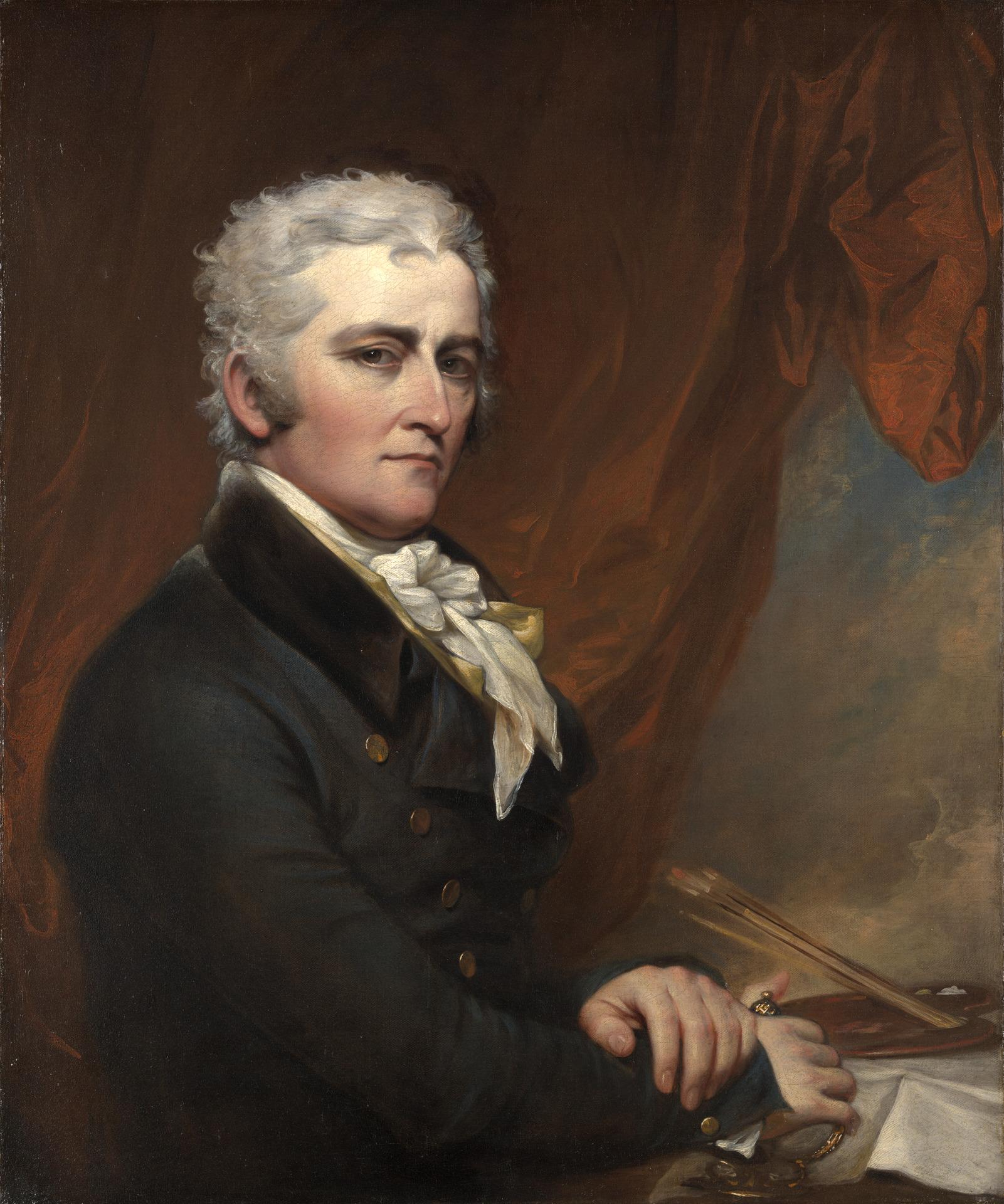 Self-portrait, {{circa|1802}}