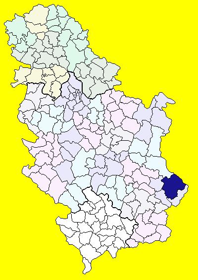 karta srbije pirot Pirot (općina) – Wikipedija karta srbije pirot