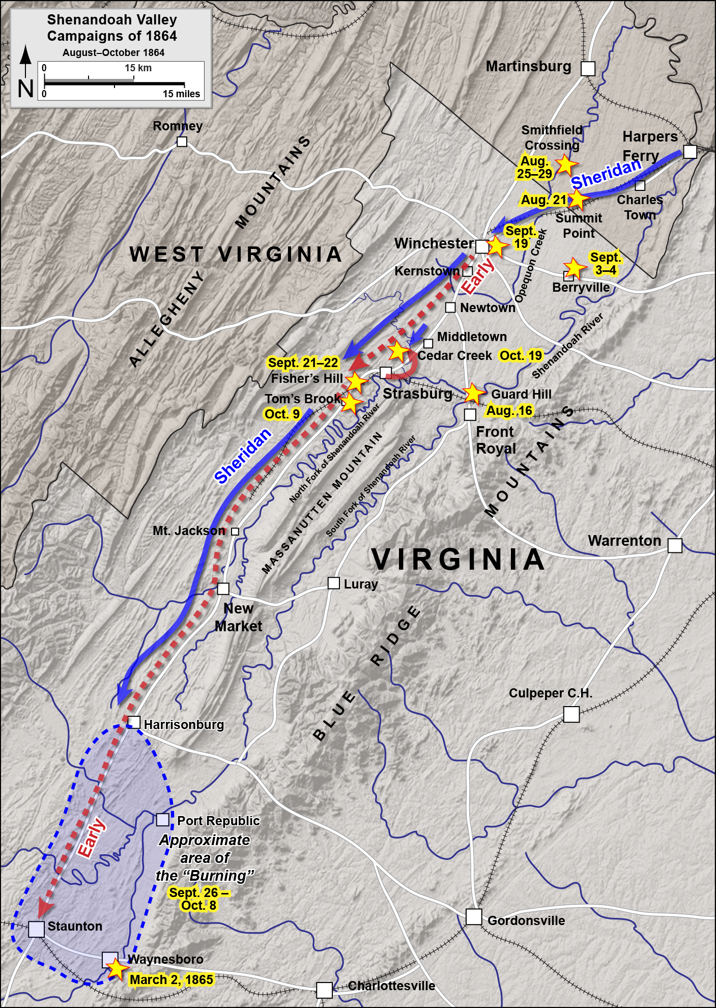 FileShenandoah Valley AugustOctober 1864png Wikimedia Commons