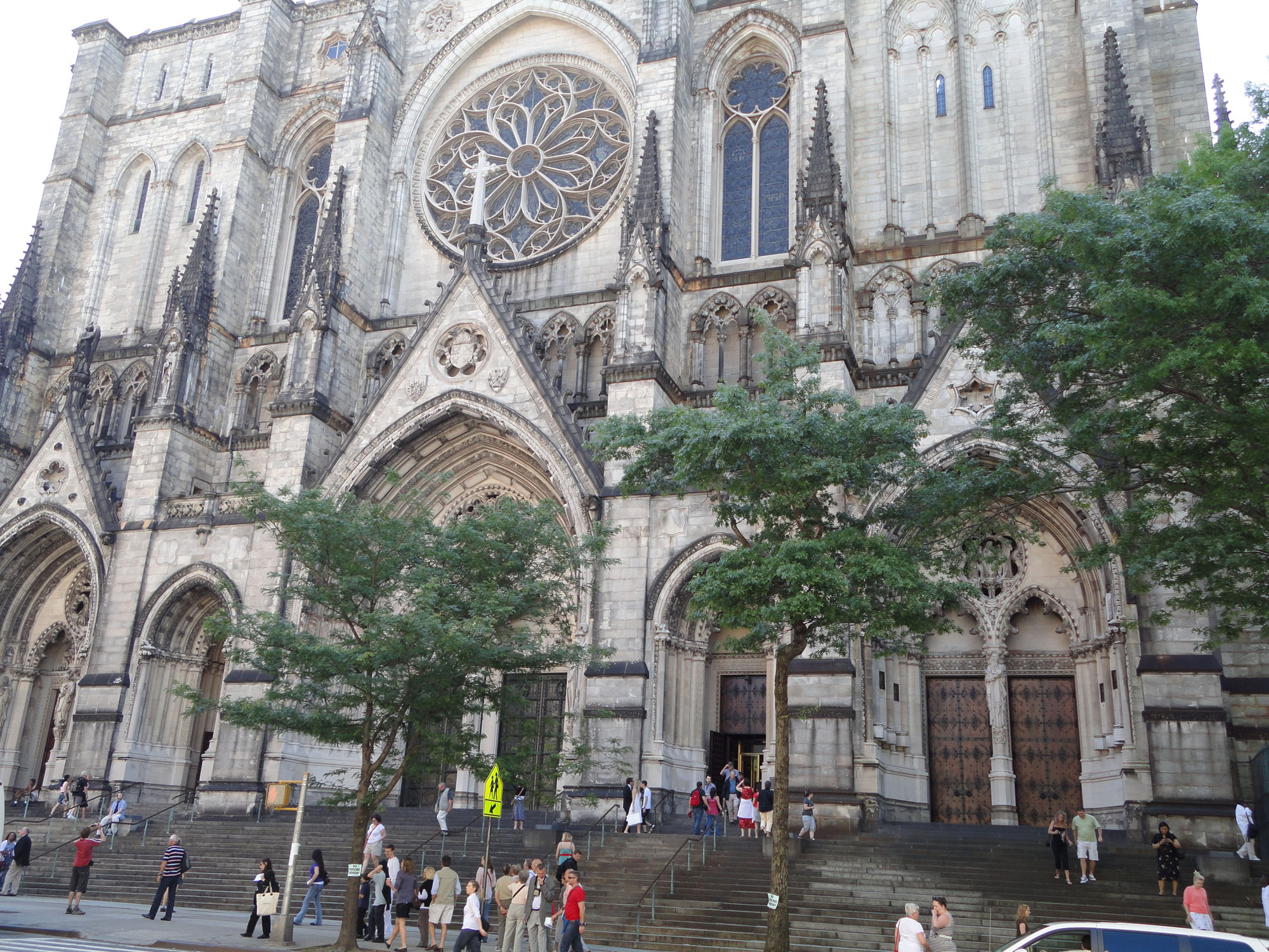 st john the divine The cathedral of st john the divine is a great and beautiful landmark inside, but  its exterior leaves much to be desired, particularly its surroundings, which were.