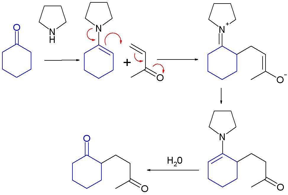 enamine reaction 2 acetylcyclohexanone Experiment 36: multistep reaction sequences:  experiment 43: enamine reactions: 2-acetylcyclohexanone experiment 44: 1,4-diphenyl-1,3-butadiene.