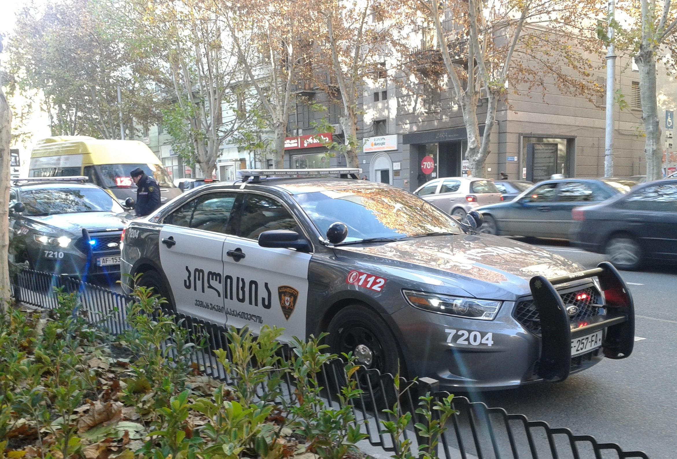 File Tbilisi Georgia Georgian Police S New Patrol Car