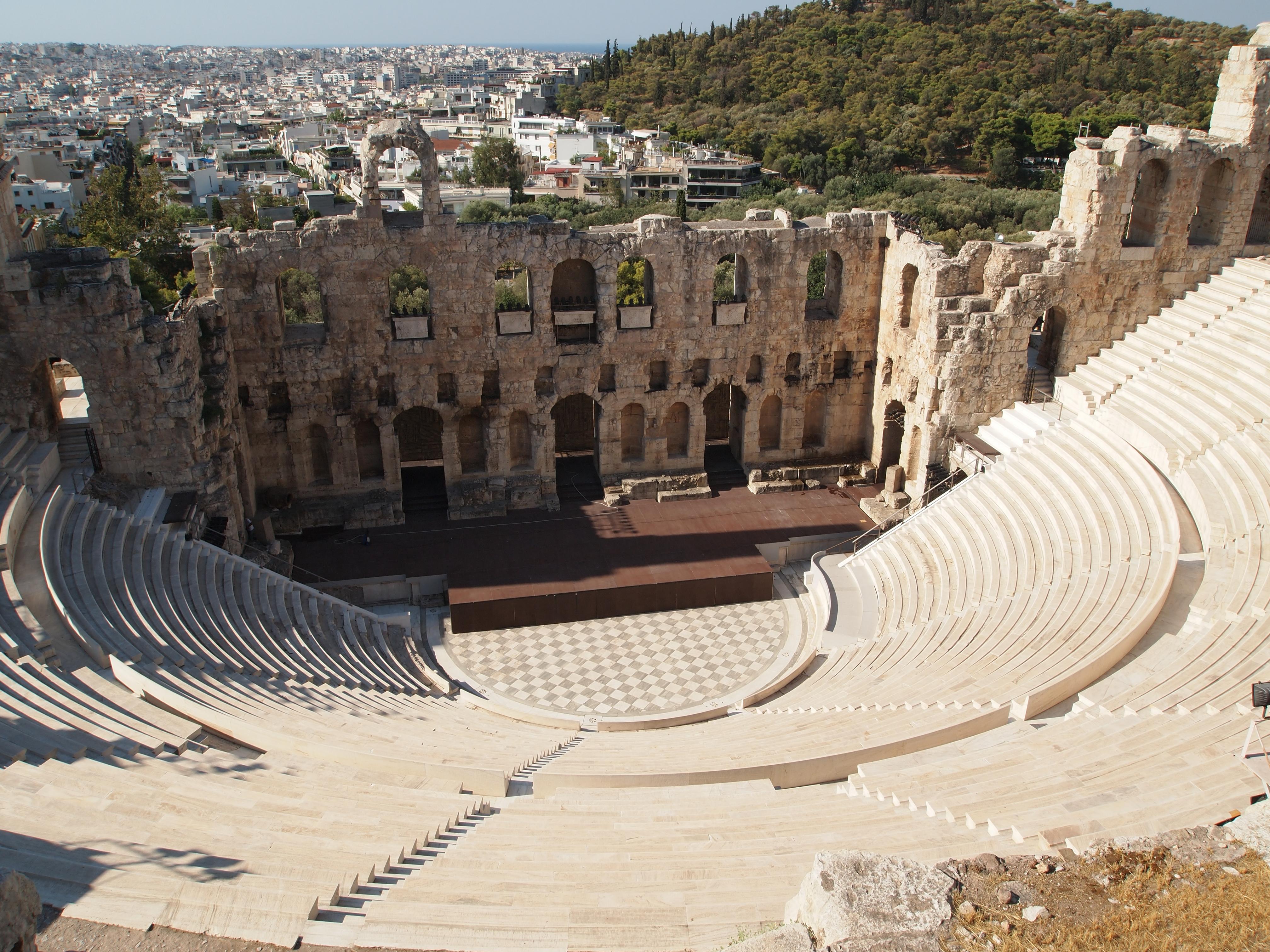the origins of greek theatre essay