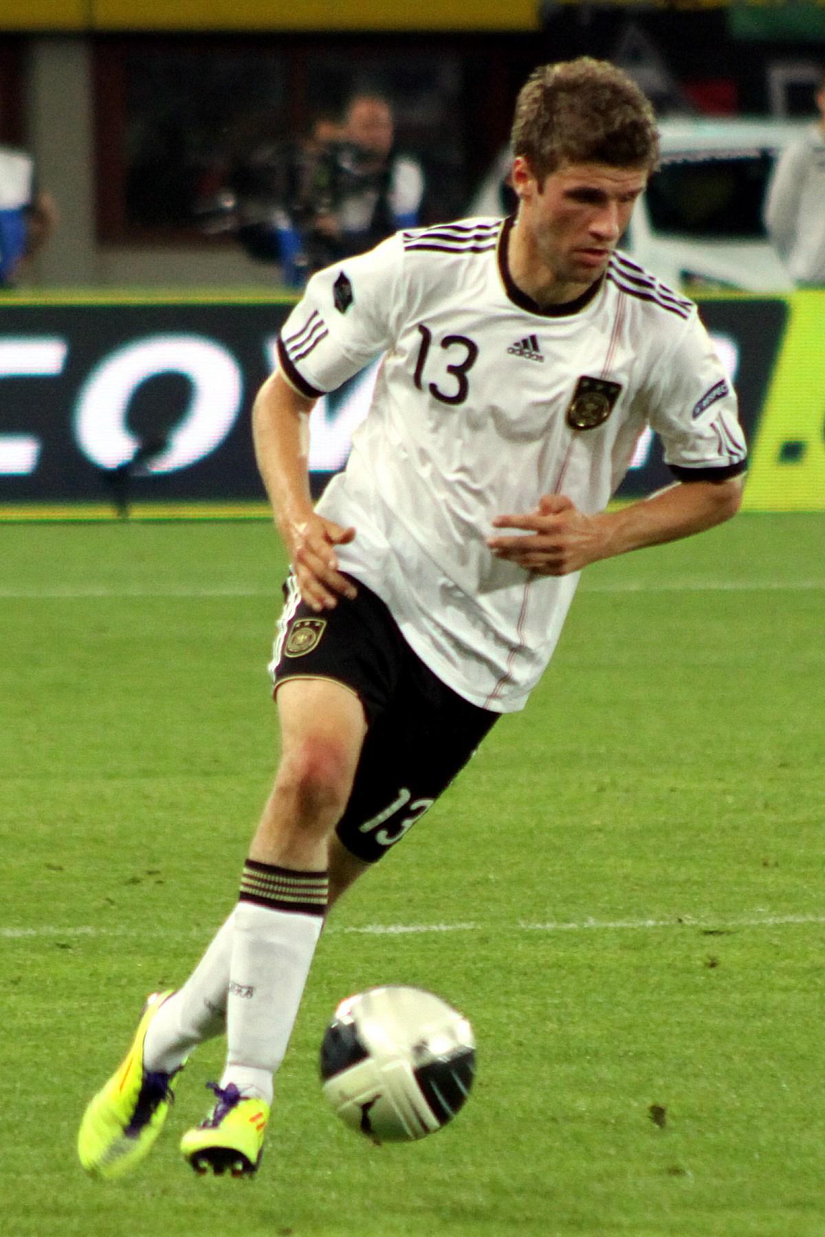 German Football Team Body Paint