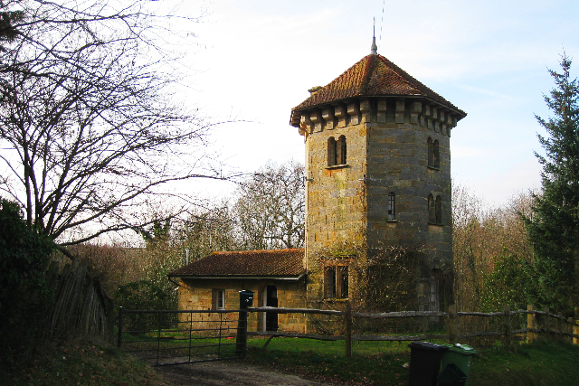File tower house penhurst hill penhurst east sussex for Castle house plans with towers