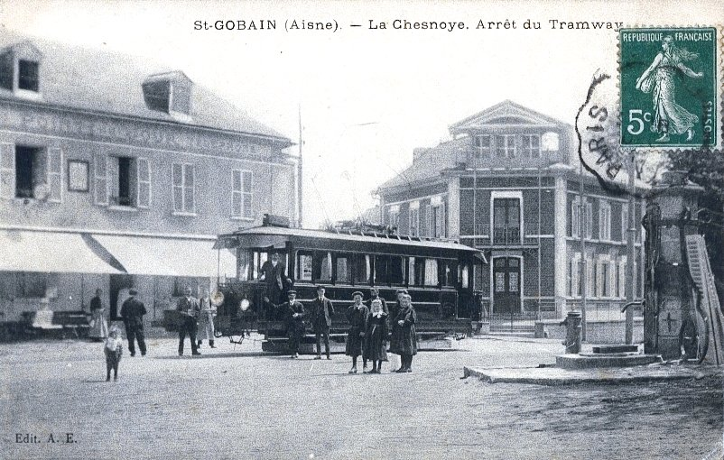 Old Tramway in Saint Gobain (Aisne, France)
