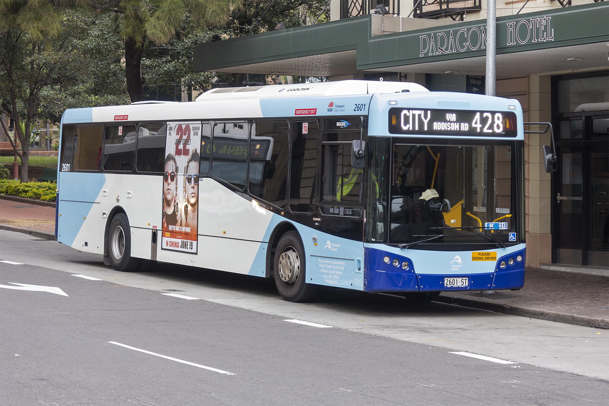 Public Bus Transportation Myrtle Beach