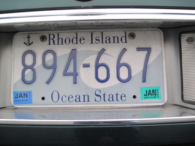 File:USA licenseplate Rhode Island.JPG