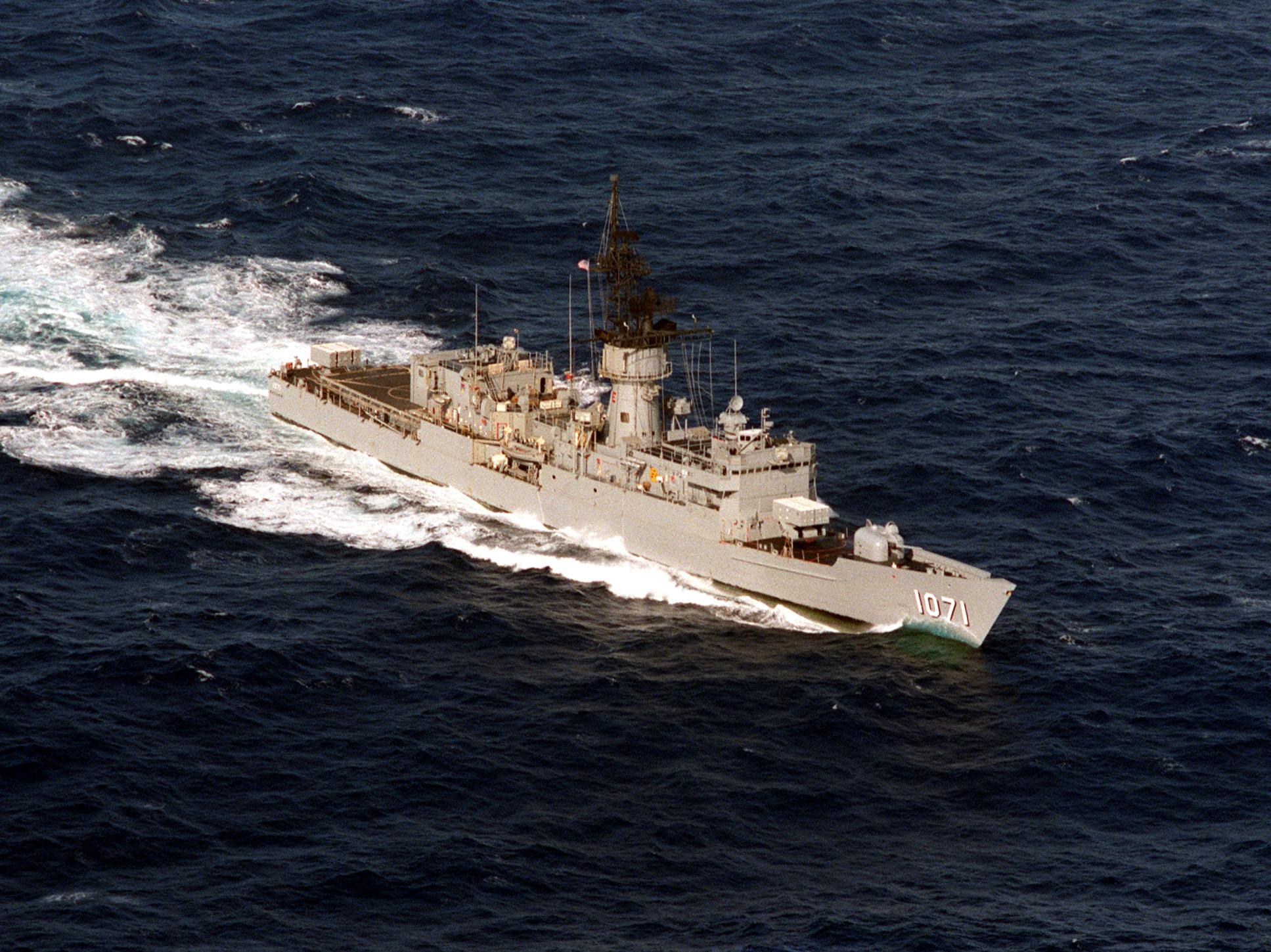 USS Badger (FF-1071)