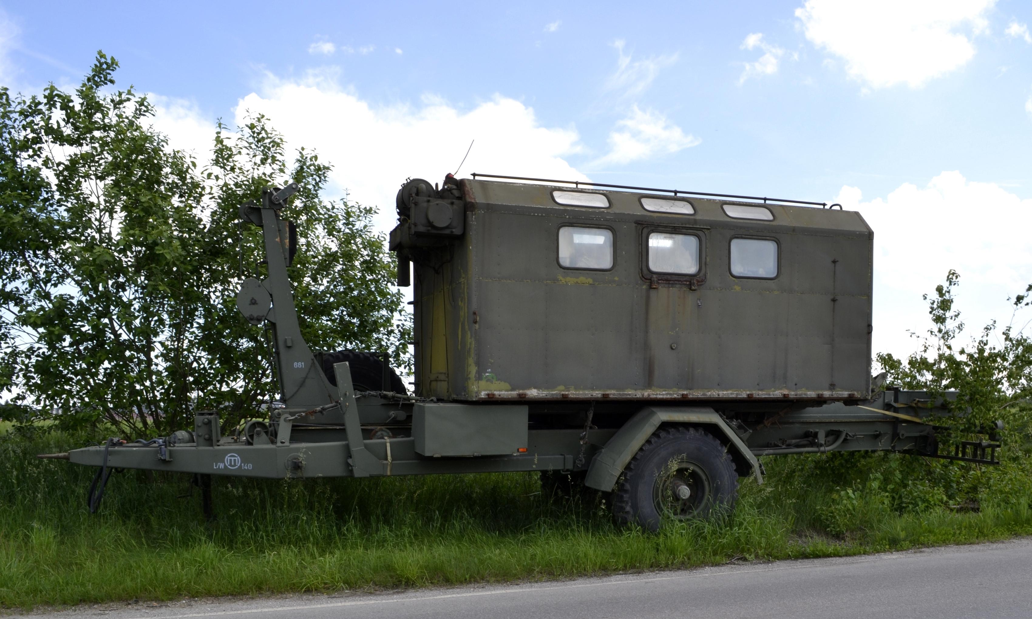 File Unidentified Military Trailer Jpg Wikimedia Commons