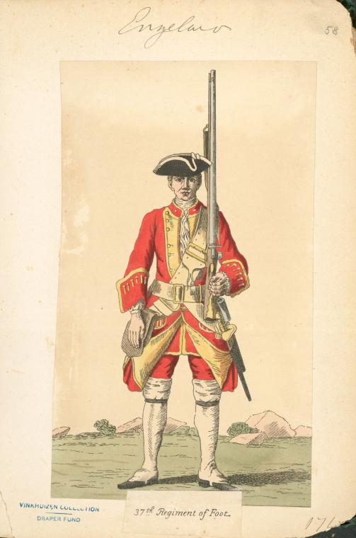 British 'Red Coat' Uniform, colored with the cochineal insect-derived dye