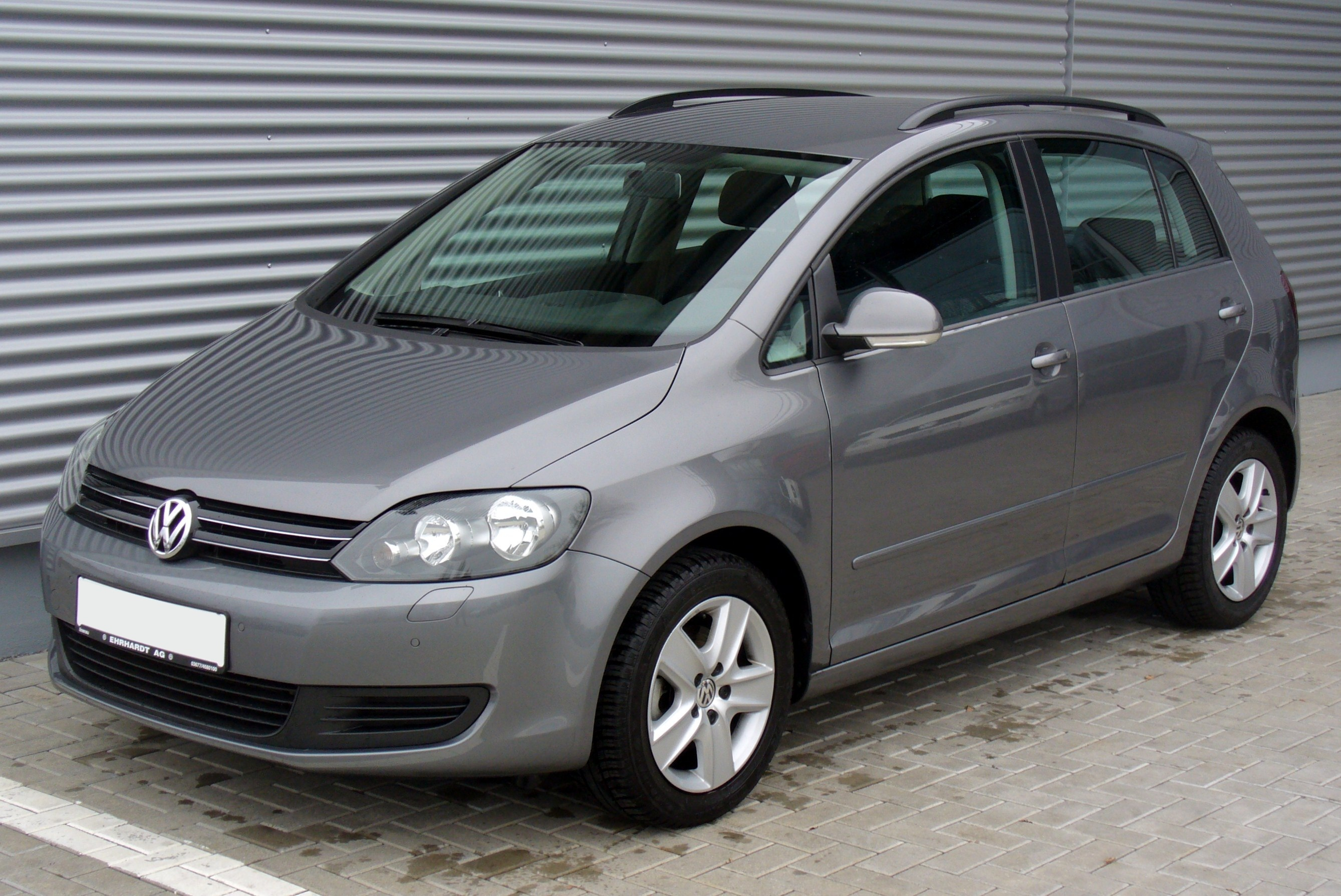 file vw golf vi plus 1 6 tdi comfortline united grey jpg wikimedia commons. Black Bedroom Furniture Sets. Home Design Ideas
