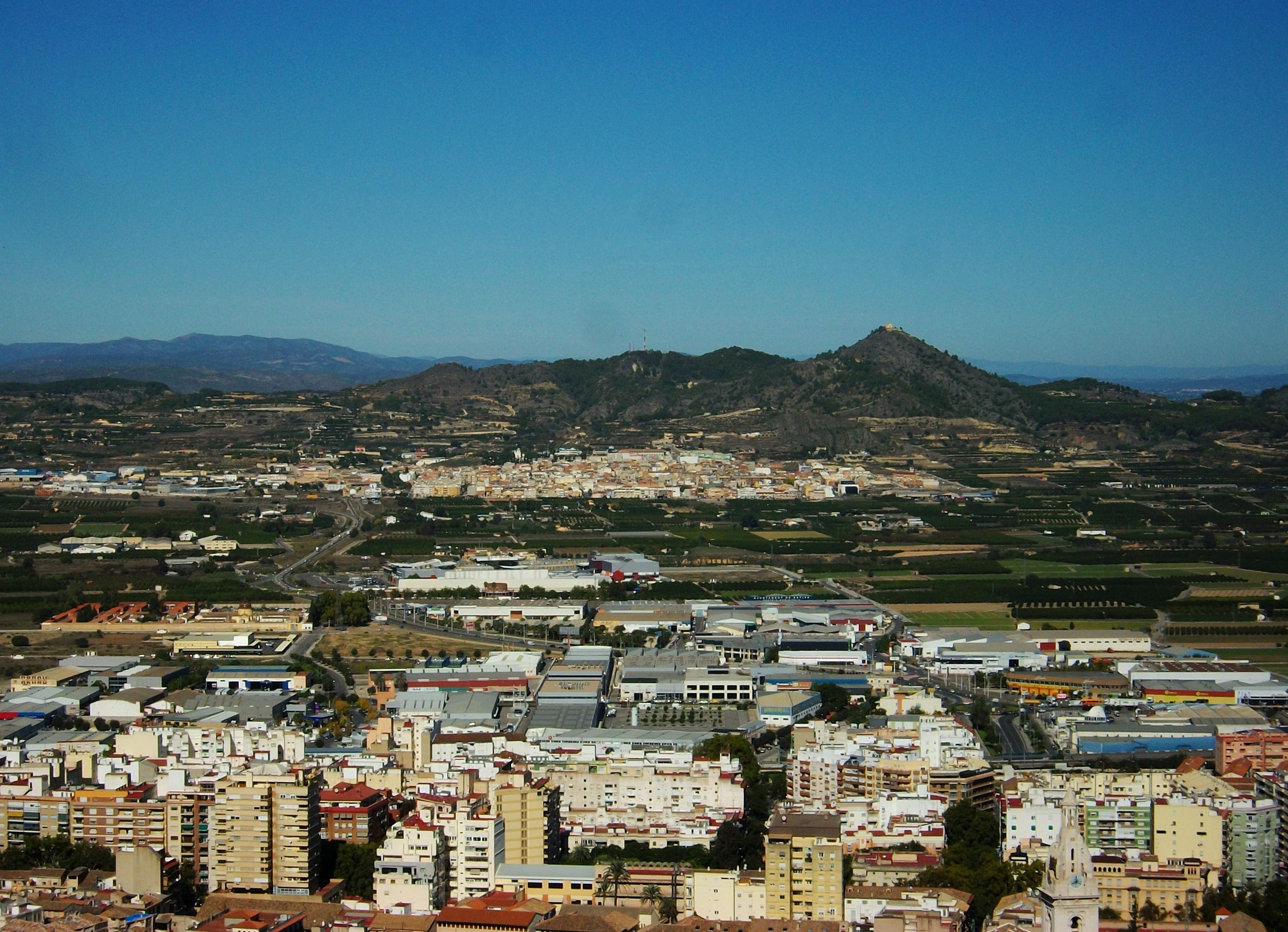 FileXàtiva i la Llosa de Ranes des del castellJPG  Wikimedia