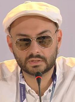 Кирилл Серебренников на 69-м Венецианском кинофестивале, сентябрь 2012 года