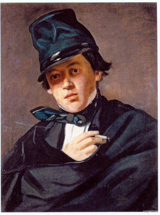 Портрет И. Г. Давыдова, написанный художником И. А. Кабановым
