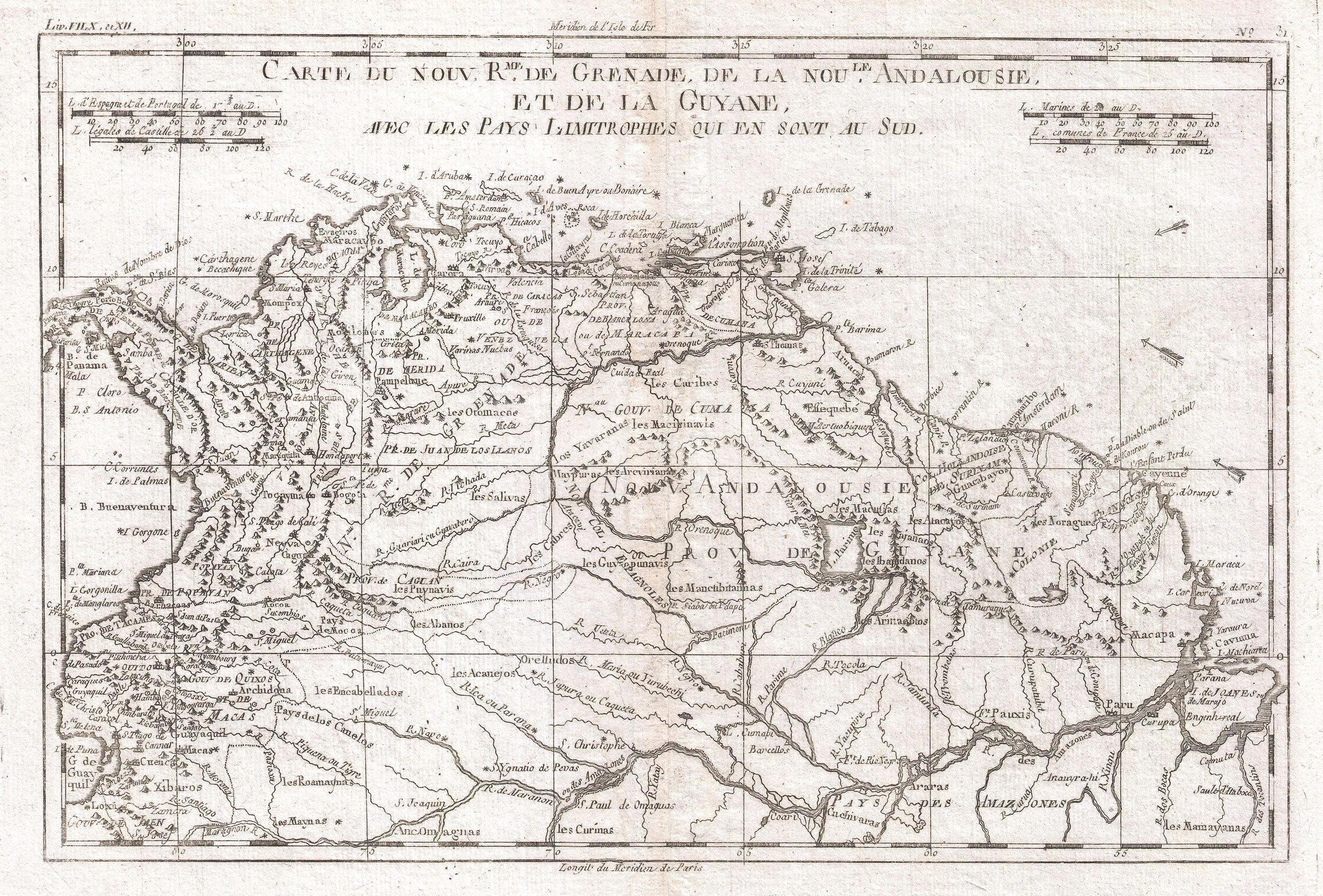 File:1780 Raynal and Bonne Map of Northern South America ... on major rivers in south america, map of northern ca wine country, map of northern east coast usa, map of north america natural resources, topography of northern south america, northern part of south america, map of north america without labels, map of latin america, map of northern lebanon, map of the northern america, political map of america, map of northern fiji, map of northern adriatic, map of northern ukraine, map of eastern north america, map of northern jordan, map of central america, map of northern south carolina, map of northern european rivers, map of northern wisconsin,