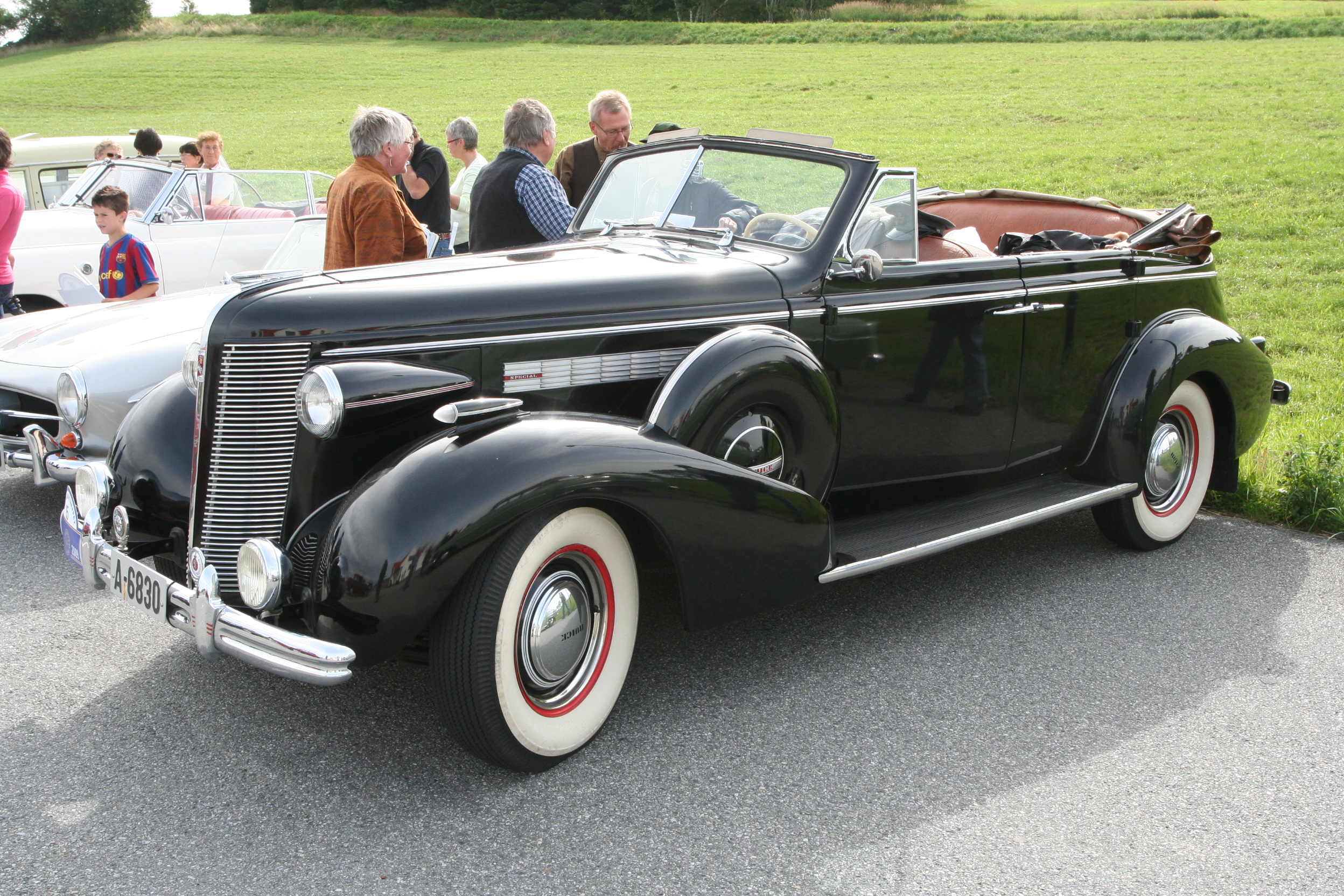 4 Door Convertible >> Tiedosto 1937 Buick 4 Door Convertible Owner Richard Riim