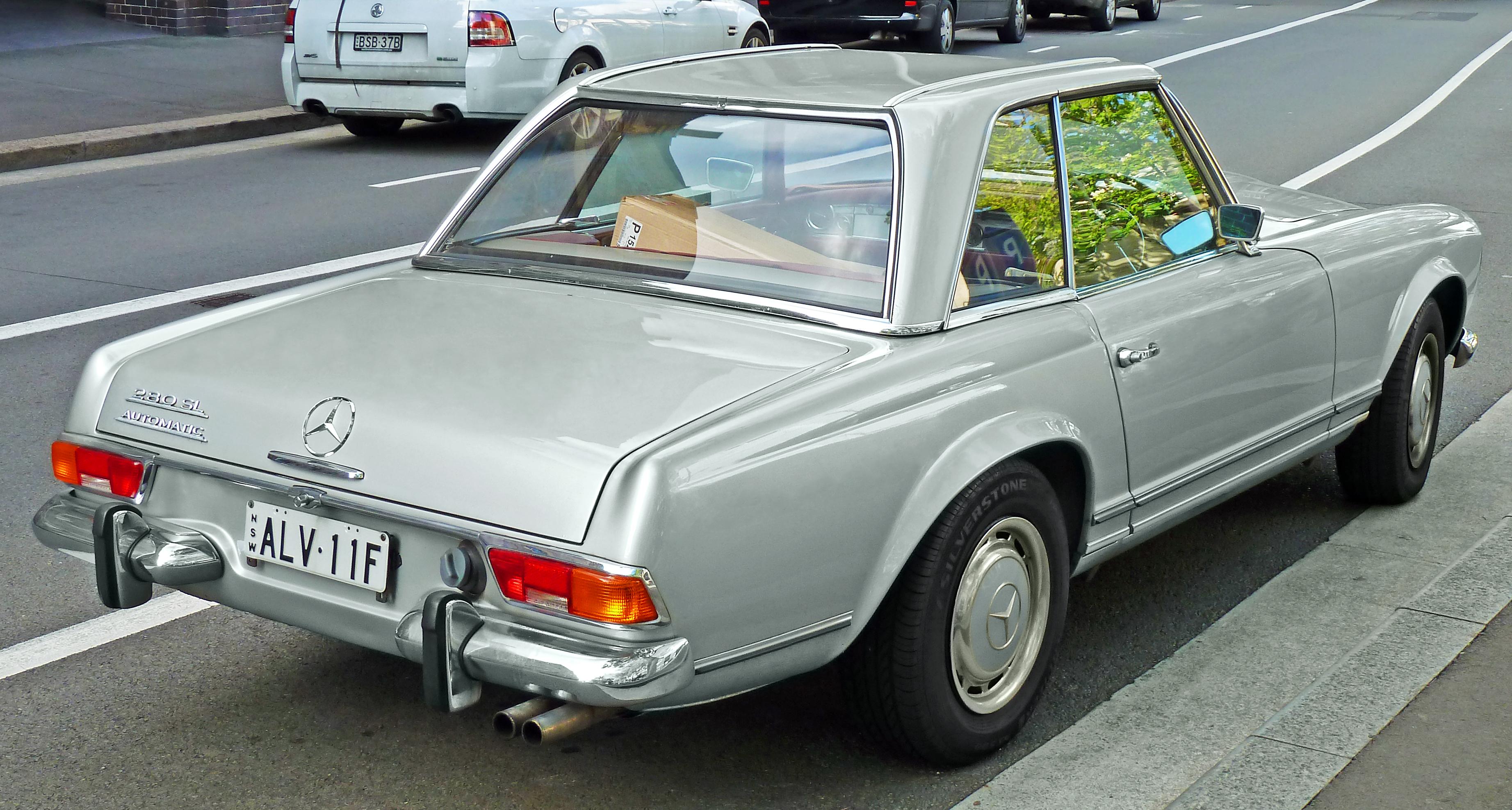 Datei 1969 mercedes benz 280 sl w 113 roadster 2011 10 for Mercedes benz sl 280