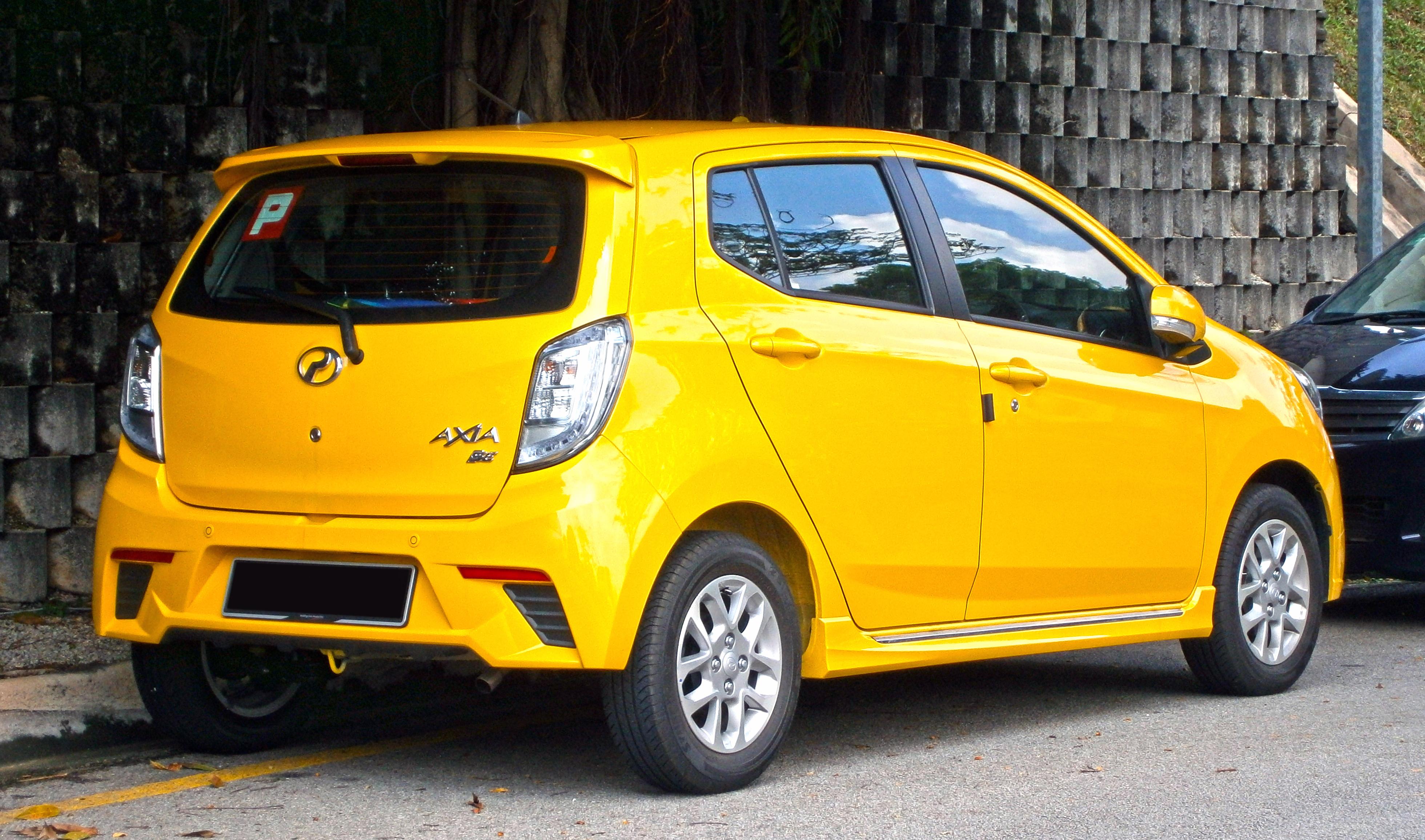 File 2014 Perodua Axia Se In Cyberjaya Malaysia 02 Jpg