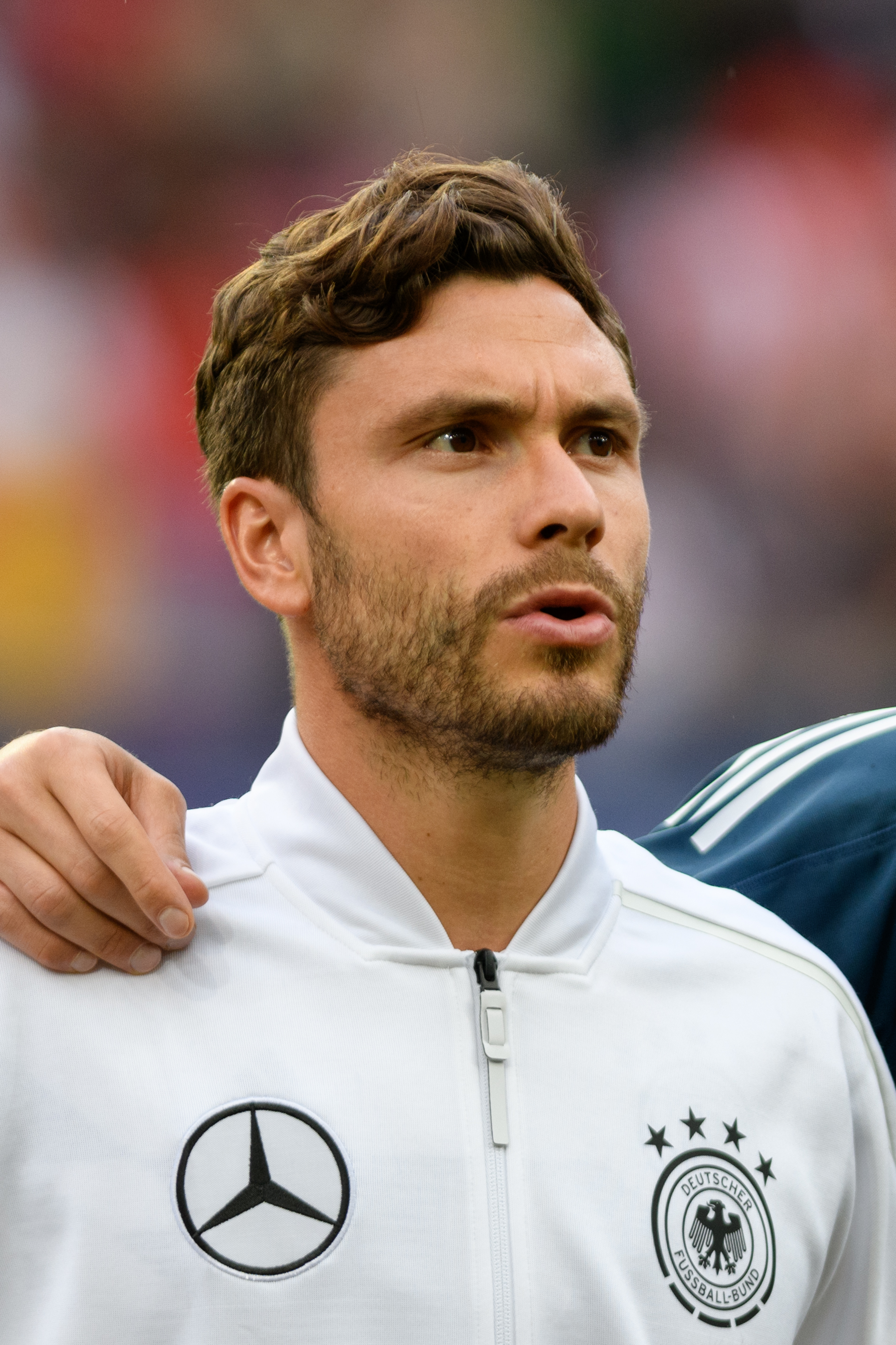 The 28-year old son of father Erhard Hector and mother Monika Hector Jonas Hector in 2018 photo. Jonas Hector earned a 2.5 million dollar salary - leaving the net worth at  million in 2018