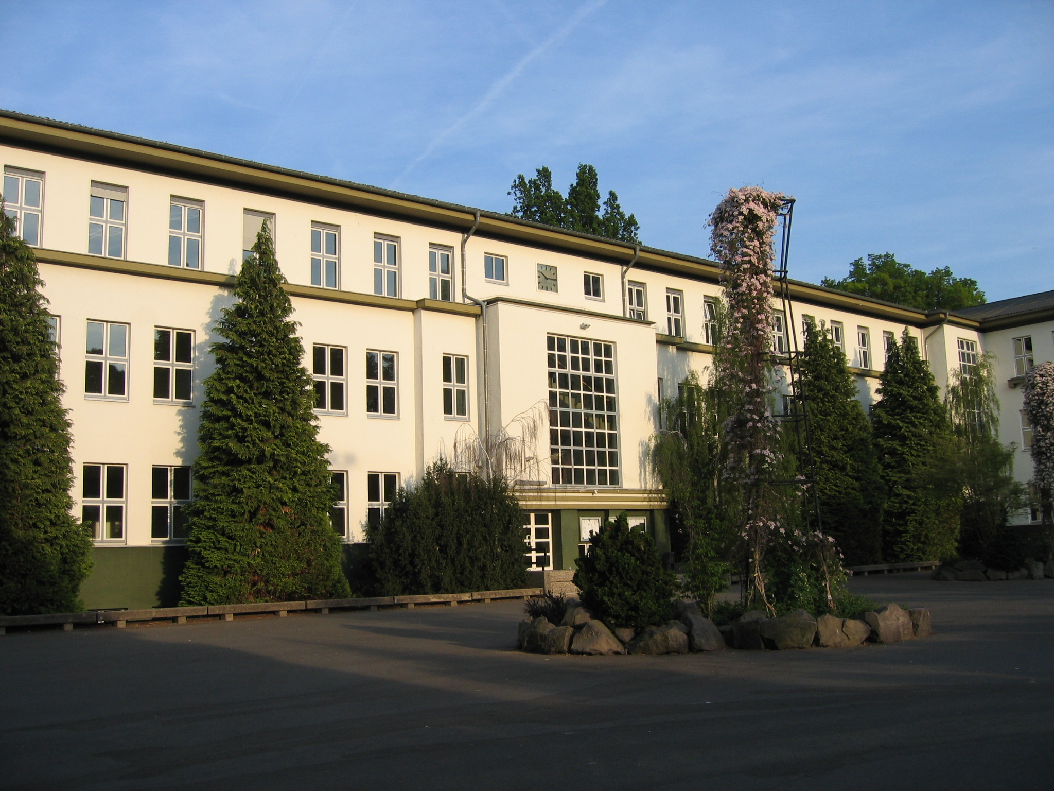 german gymnasium and american community college