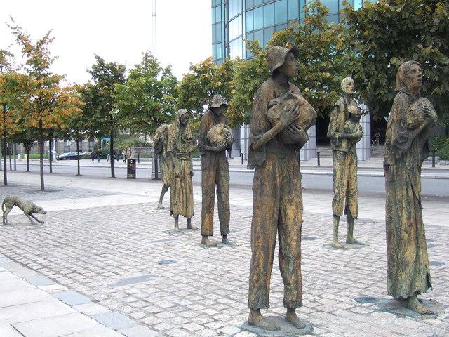 Irish Famine Memorial, Dublin