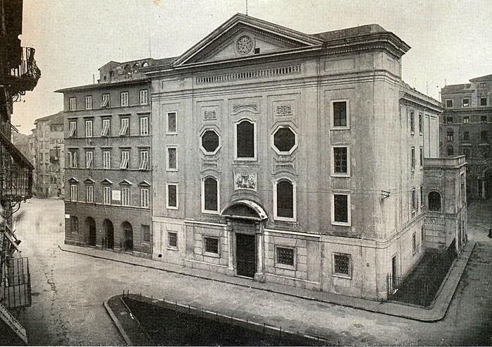 Sinagoga vecchia di Livorno - Wikipedia