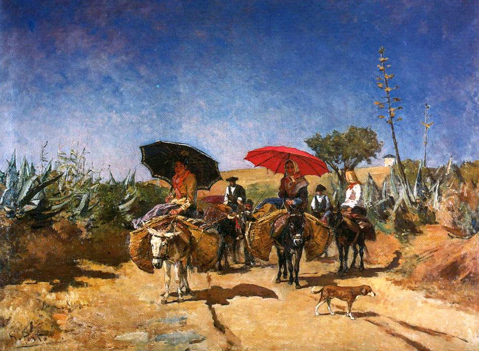 Peinture d'Antonio da Silva Porto
