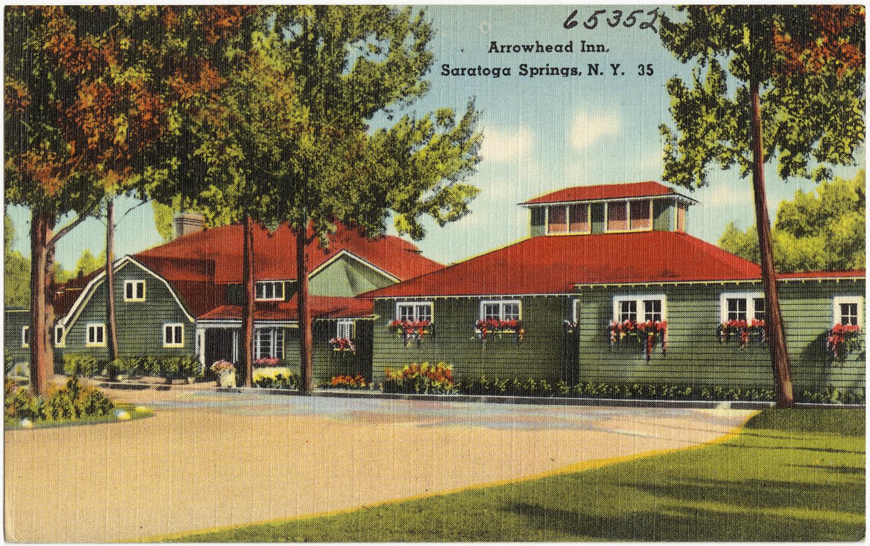 File arrowhead inn saratoga springs wikipedia for Saratoga springs hotels ny