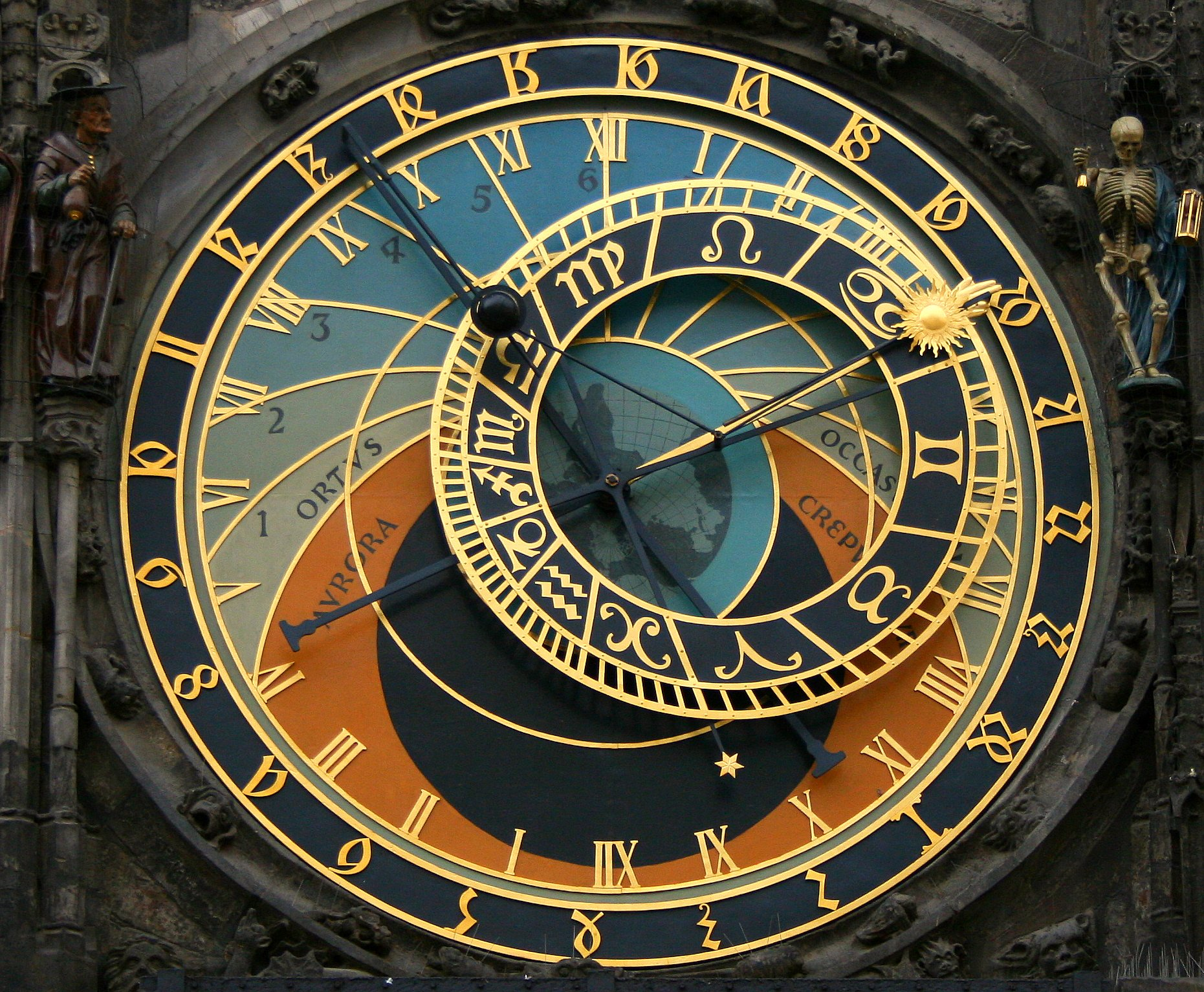 astronomy clock -#main